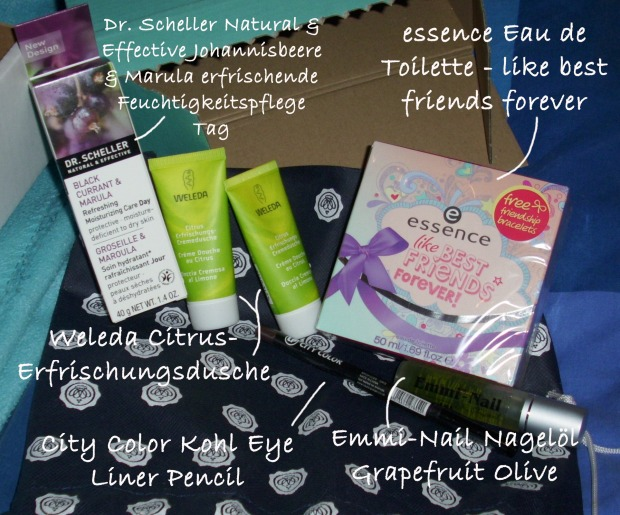 Glossybox August2014 2