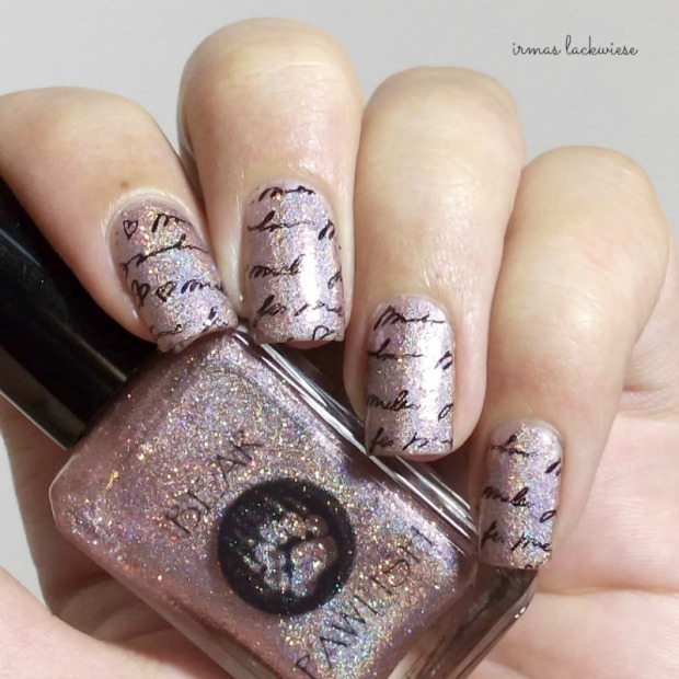 bear pawlish - baby bears breath (13) + stamping moyou princess 11