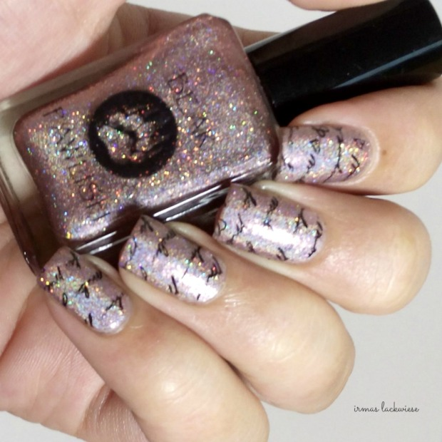 bear pawlish - baby bears breath (14) + stamping moyou princess 11