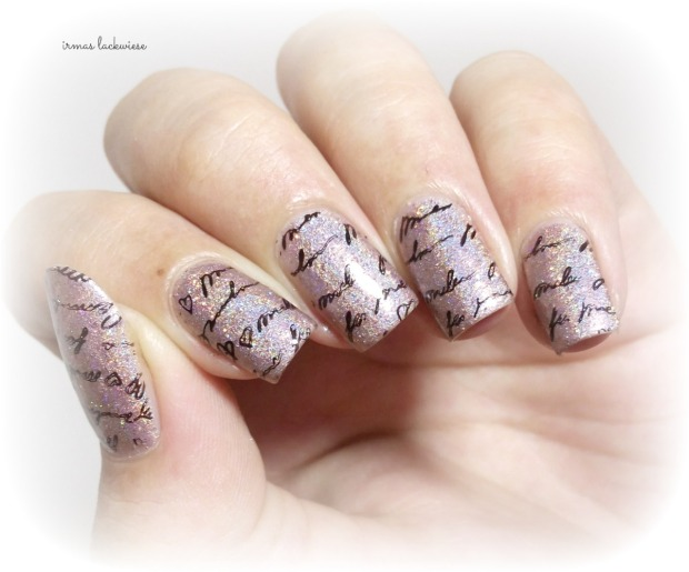 bear pawlish - baby bears breath (17) + stamping moyou princess 11