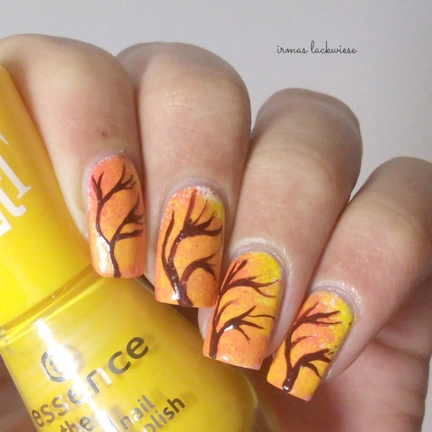 nailart fall tree (3)