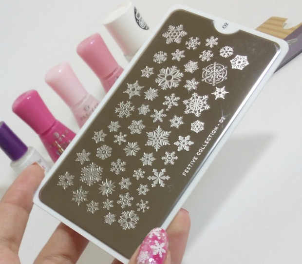 pink smoky nails (5)