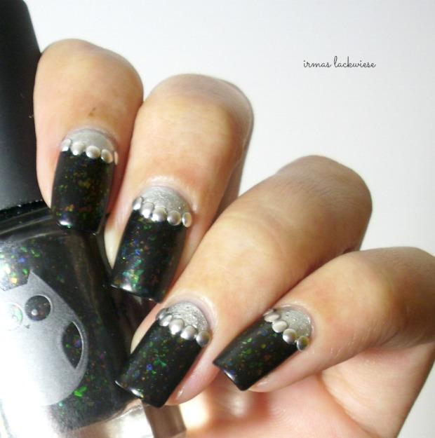 twin nails (30) c zmei gorinich silver halfmoon + nieten