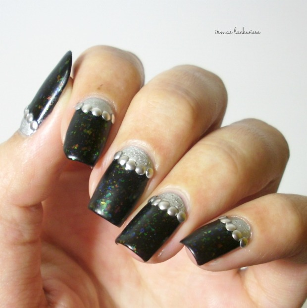twin nails (35) c zmei gorinich silver halfmoon + nieten