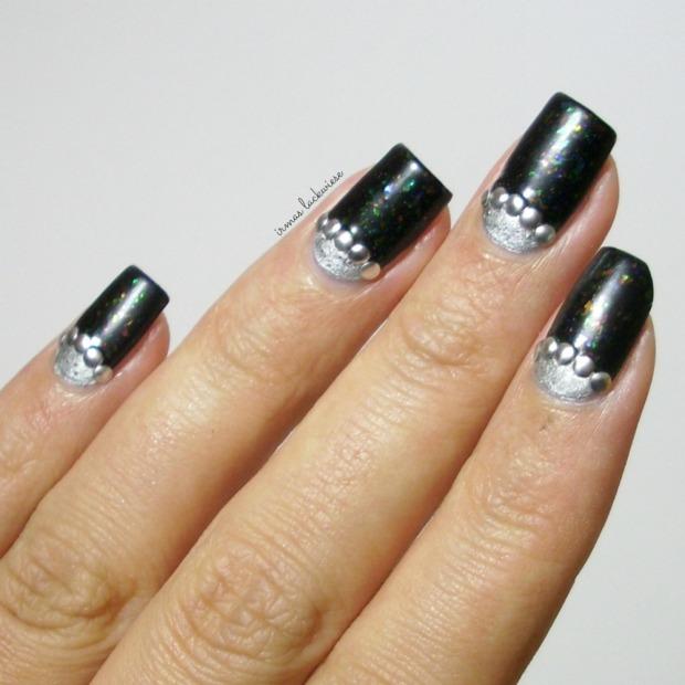 twin nails (37) c zmei gorinich silver halfmoon + nieten