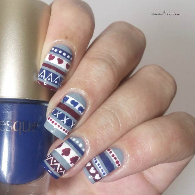 3. nailart sweater pattern (1)