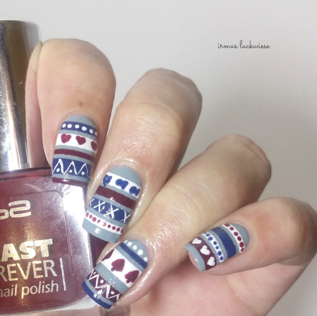3. nailart sweater pattern (2)