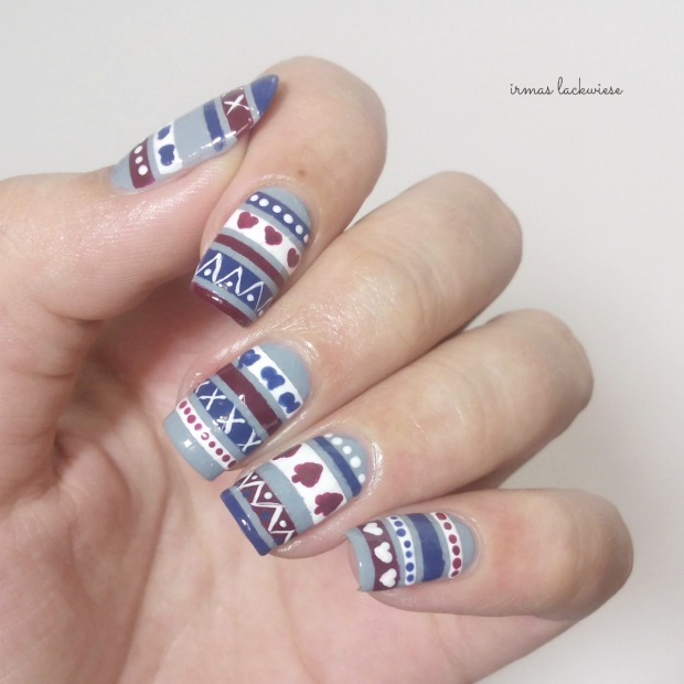 3. nailart sweater pattern (4)