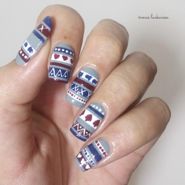 3. nailart sweater pattern (5)