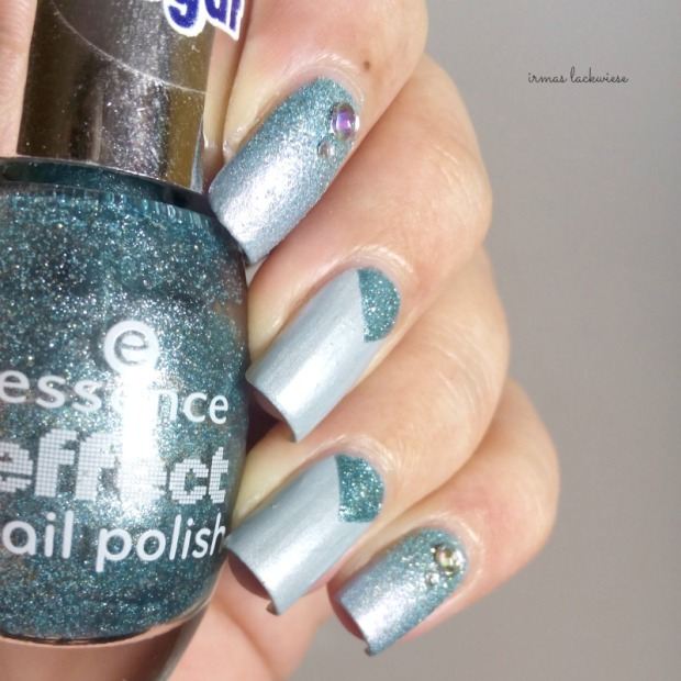 essence where did i park my unicorn + nailart frozen (3)