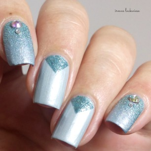 essence where did i park my unicorn + nailart frozen (5)