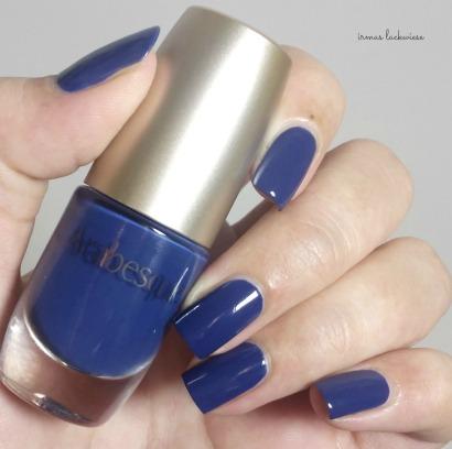 nailart blue snowflakes arabesque kobalt blue (1)