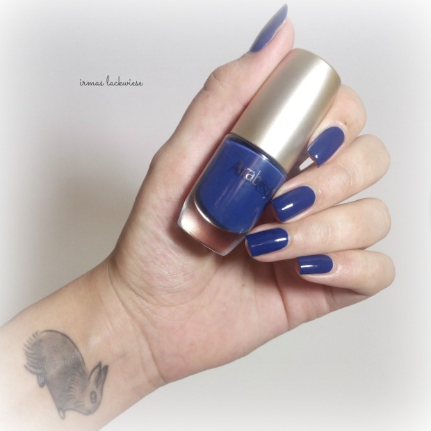 nailart blue snowflakes arabesque kobalt blue (2)