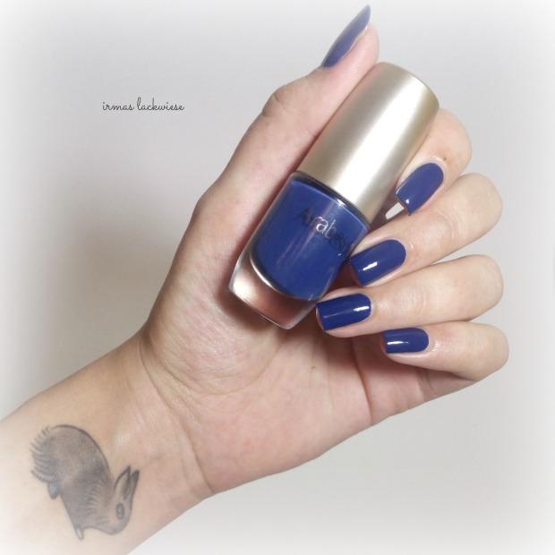 nailart blue snowflakes arabesque kobalt blue (2)