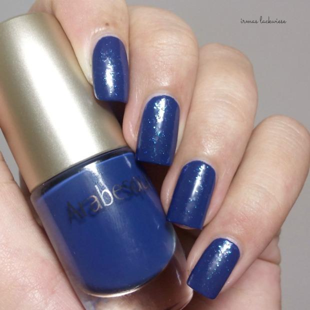 nailart blue snowflakes arabesque kobalt blue (6)
