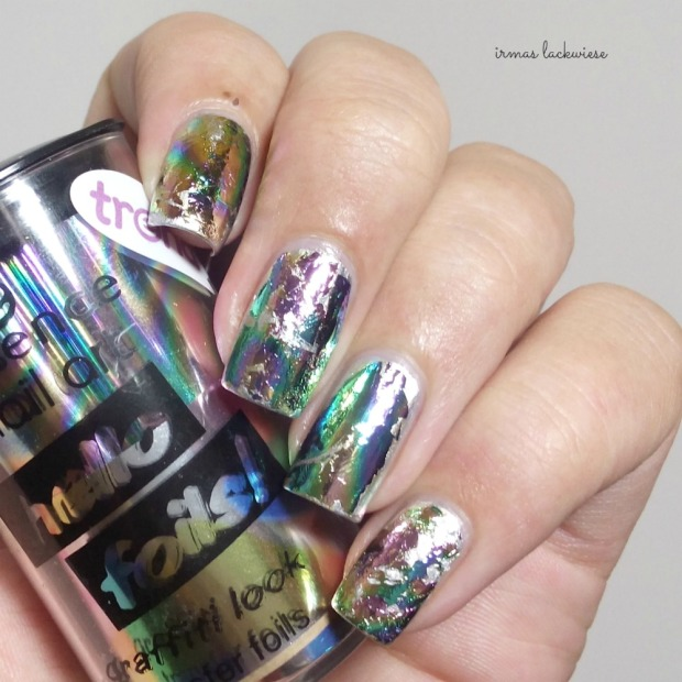 stargazer metal & chrome silver (6) + essence hello foils