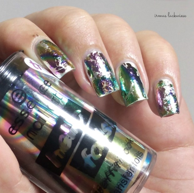 stargazer metal & chrome silver (7) + essence hello foils
