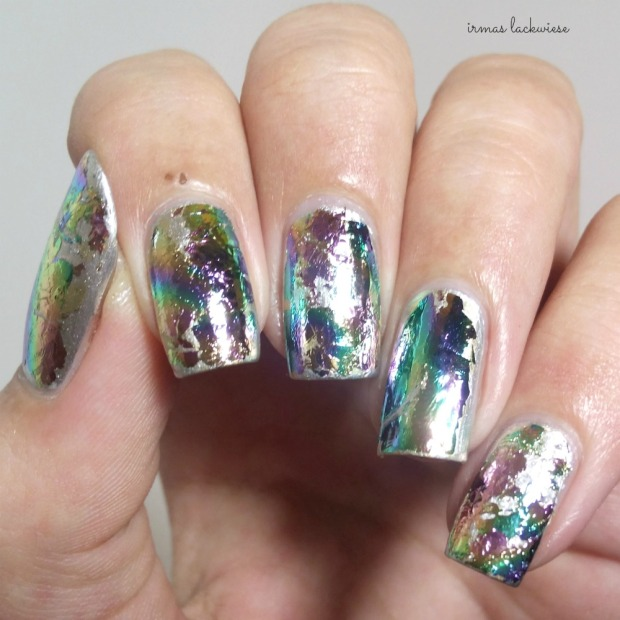 stargazer metal & chrome silver (8) + essence hello foils