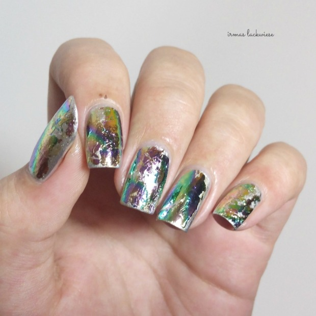 stargazer metal & chrome silver (9) + essence hello foils