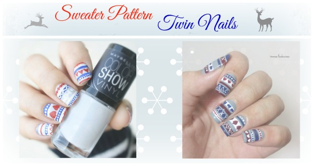 sweater pattern twin nails 2