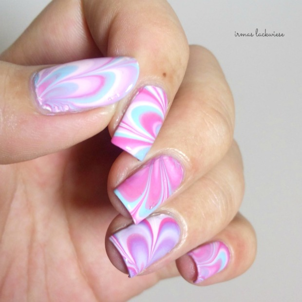 beauty2k white + water marble nail art with essence (10)
