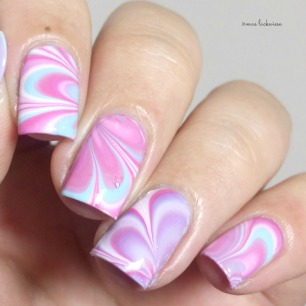 beauty2k white + water marble nail art with essence (11)