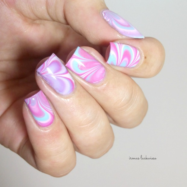 beauty2k white + water marble nail art with essence (13)