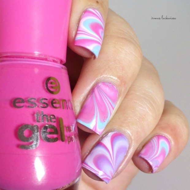 beauty2k white + water marble nail art with essence (7)