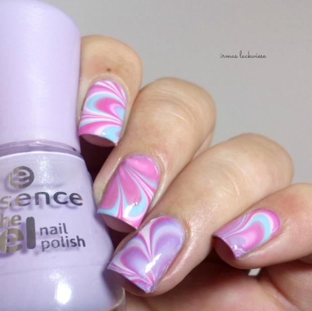 beauty2k white + water marble nail art with essence (9)