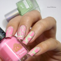 p2 illuminating green + lcn crackle finish pink jane (3)
