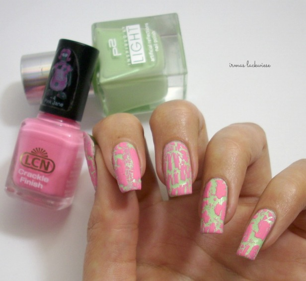 p2 illuminating green + lcn crackle finish pink jane (4)