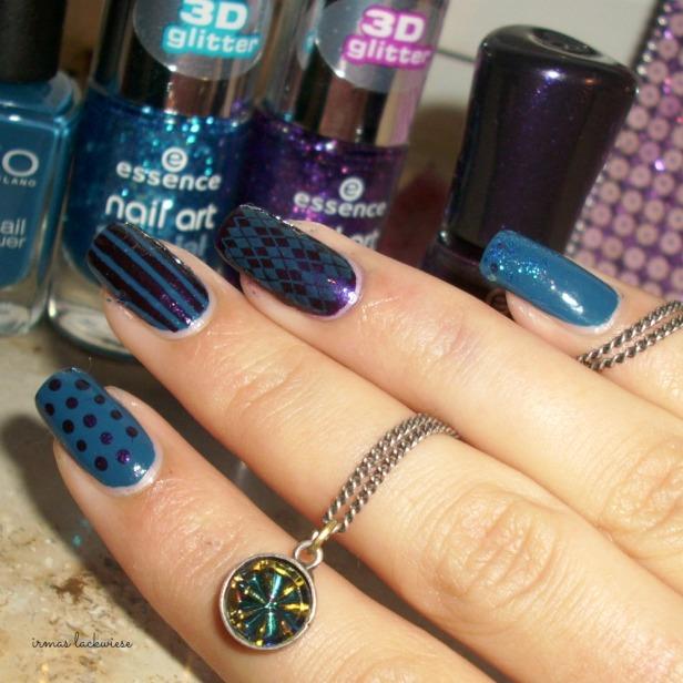 skittle nails (3)