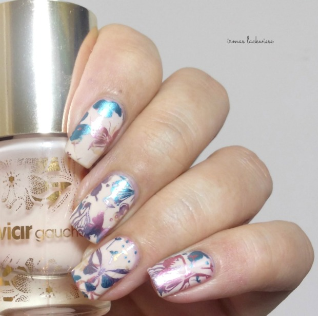 catrice kaviar gauche butterfly kiss + moyou gradient double stamping(6)