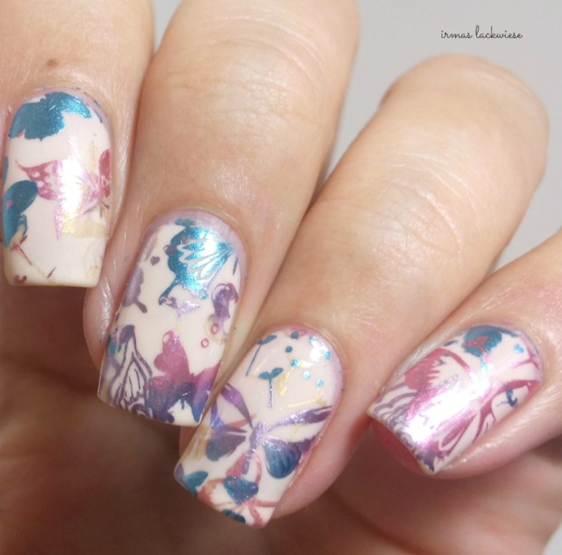 catrice kaviar gauche butterfly kiss + moyou gradient double stamping(8)