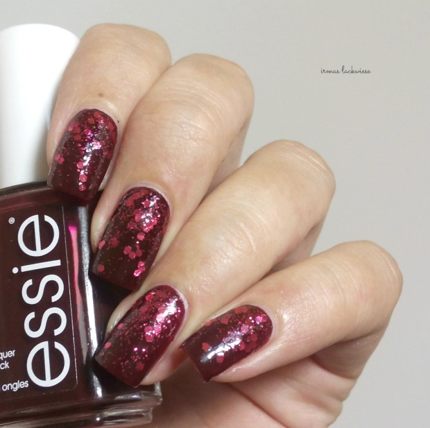 essie skirting the issue + essence love apple(6)