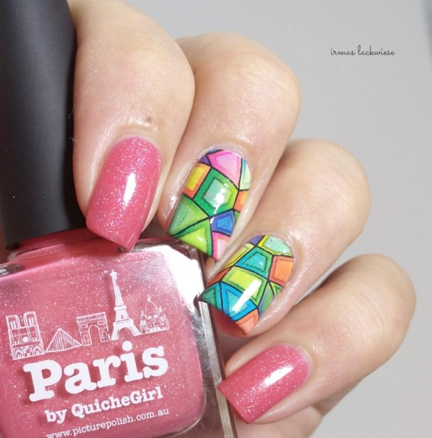 picture polish paris + ilmv stained glass water decals (1)