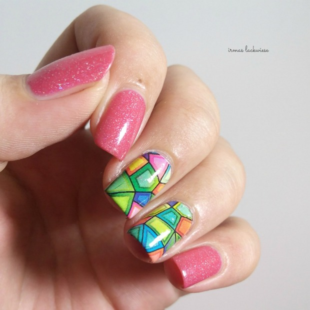 picture polish paris + ilmv stained glass water decals (3)