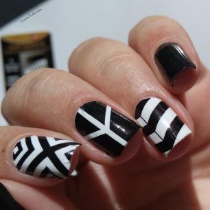 black and white nail wraps (4)