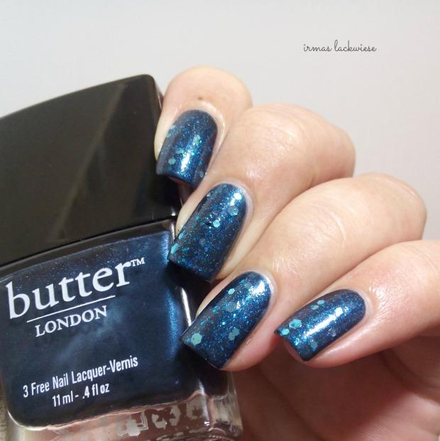 Butter London Blue Coat + essence glorious aquarius(6)
