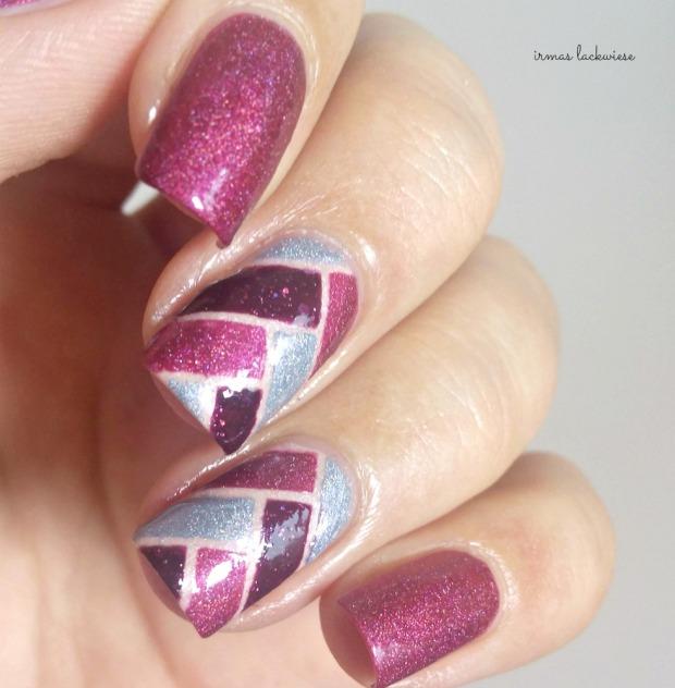 fishtail braid nails (7)