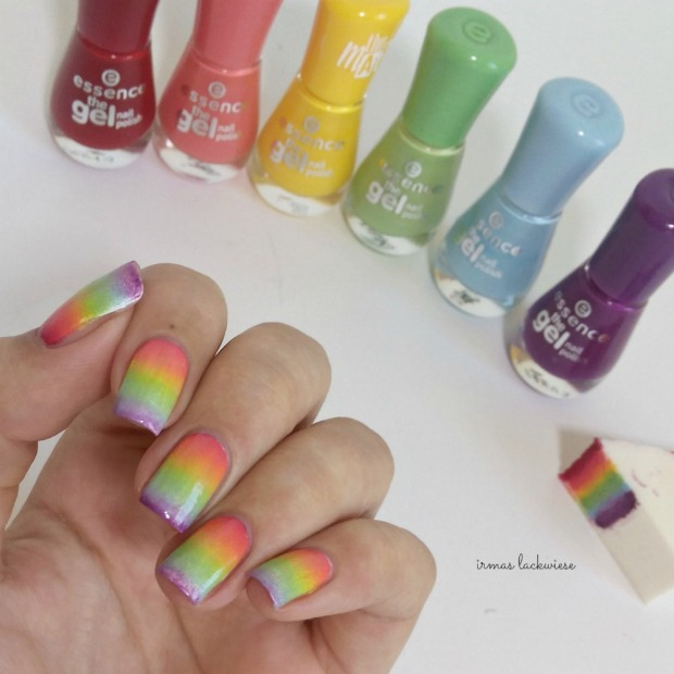 rainbow gradient nails (1)