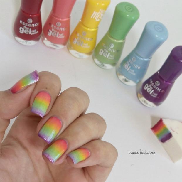 rainbow gradient nails (1)