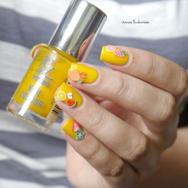 essence hello sunshine + rdl young exotic tropic + fimo früchte (19)