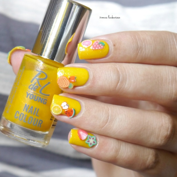 essence hello sunshine + rdl young exotic tropic + fimo früchte (20)