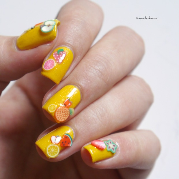 essence hello sunshine + rdl young exotic tropic + fimo früchte (24)