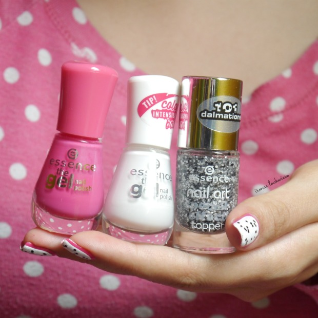 essence #lucky + dragonfruit nailart(13)