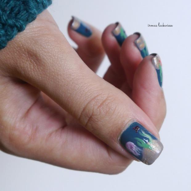 essie go overboard + underwater nails(15)