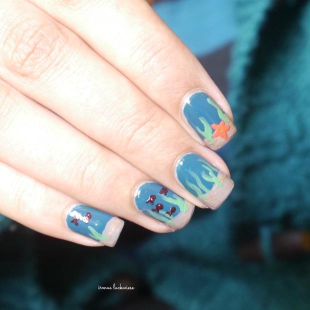 essie go overboard + underwater nails(9)
