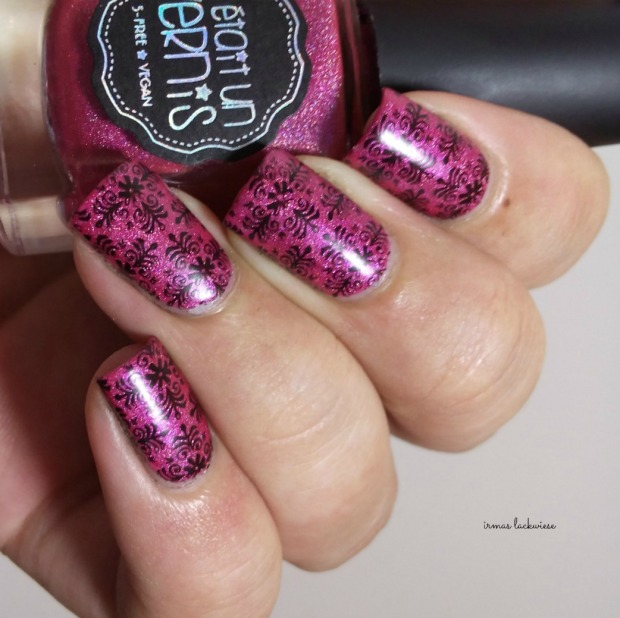 il était un vernis under the pink + moyou fashionista stamping(10)