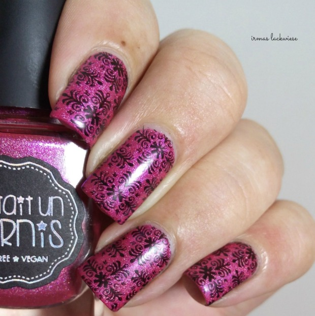 il était un vernis under the pink + moyou fashionista stamping(11)